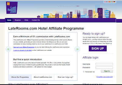 LateRooms offers flexible affiliate programme that fits every business