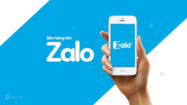 """Khóa học """"Bán hàng trên ZALO - sức hút hơn 100 đơn/ngày"""""""