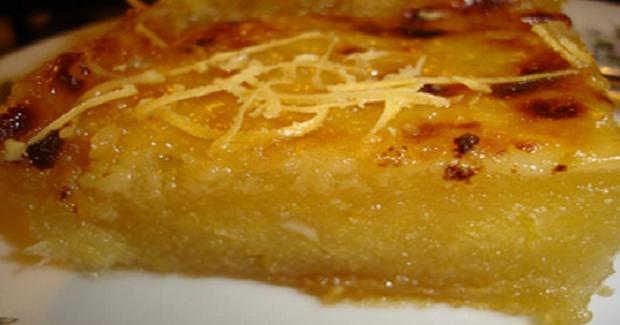 Cassava Pudding