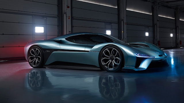 Nio's EP9 breaks Lamborghini's speed record
