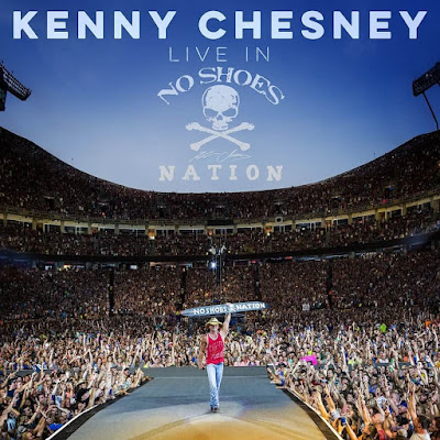 "Kenny Chesney Scores No. 1 Album Worldwide With ""Live In No Shoes Nation"""