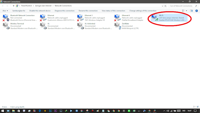 Bagi yang sedang mencari alternatif Connectify yang berbayar dan terlalu ribet kali ini ON Baidu Wifi Hotspot Terbaru