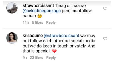 TRENDING: Dahilan ni Kris Aquino sa pag-unfollow ng mga friends sa Instagram