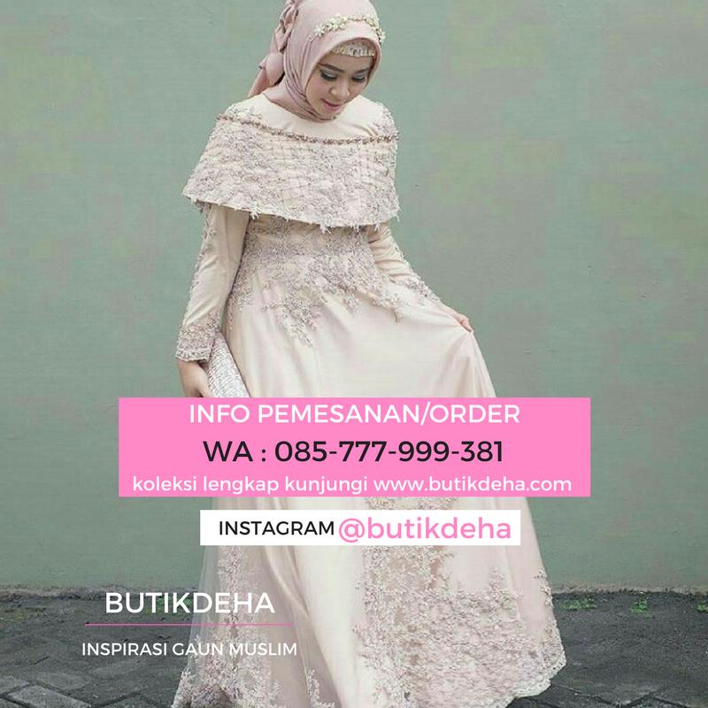 Butikdeha Inspirasi Gaun Wisuda Muslim Hubungi Cs 085 777 999 381