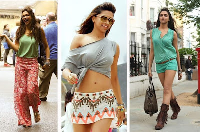 From traditional Indian Sarees To Casual Wear. Deepika Padukone has been spotted in various breathtaking western clothes.