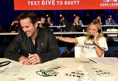 Celebrities fundraiser telethon