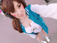 D.Va Overwatch Beautifull Cosplay Collection
