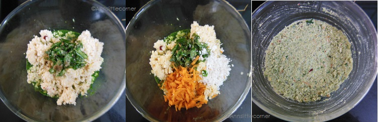 How to make Mudakathan Keerai Vadai - Step 4