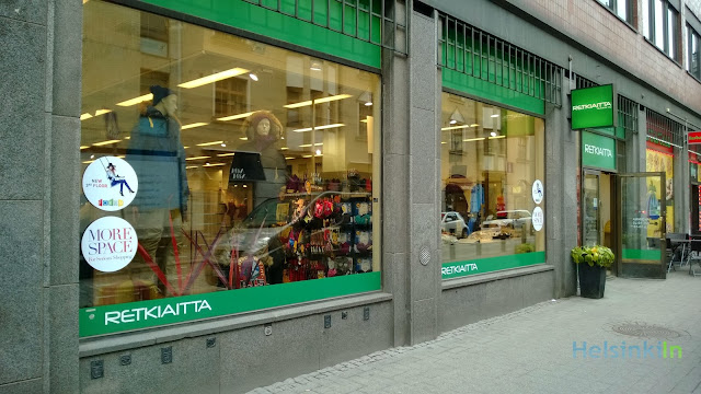 Retkiaitta store in the city center