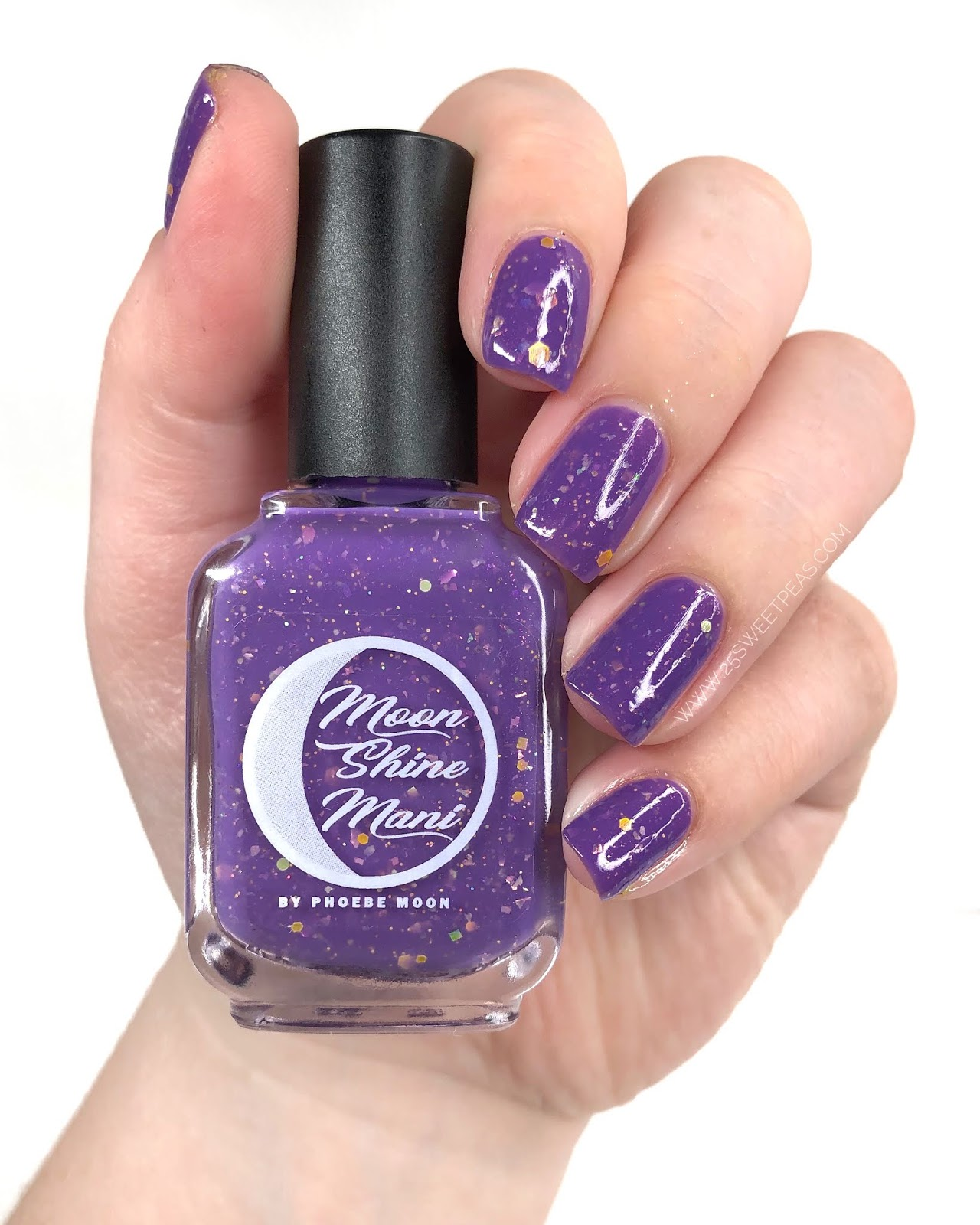 Moon Shine Mani Cher 25 Sweetpeas