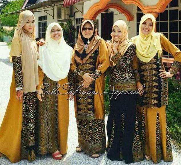 Referensi Model Baju Muslim Songket Mulai Dari Style