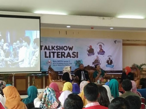 Talkshow Literasi Disdik Jabar