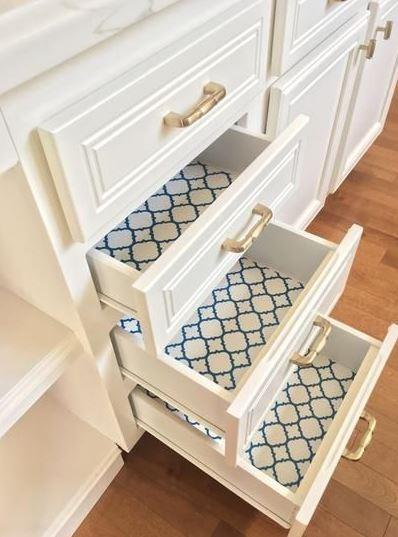Kitchen Shelf Liner Ideas