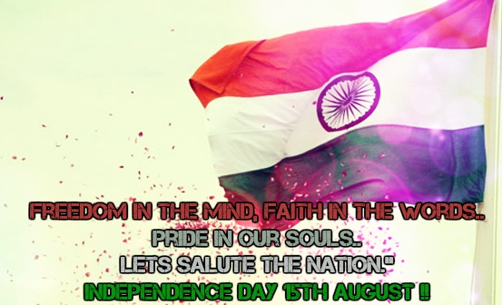15 august independence day sms, Greetings, quotes for fb