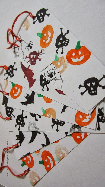 Hobby Crafts Quick Halloween Bookmarks