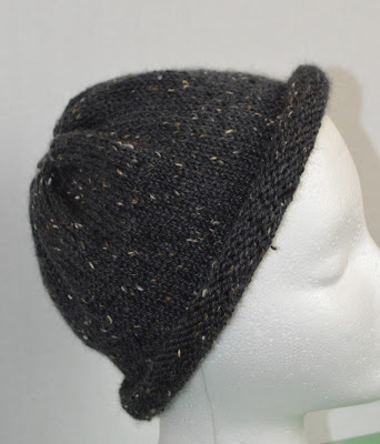 rolled brim hat, https://www.etsy.com/shop/JeannieGrayKnits