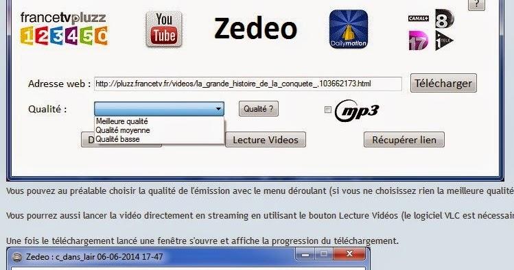 pluzz avec zedeo