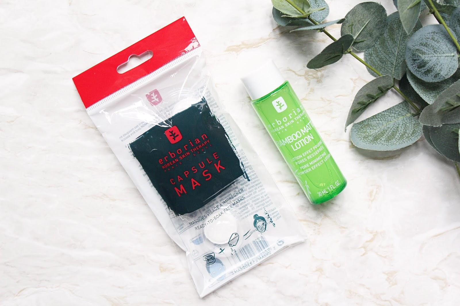 Erborian Capsule Mask & Bamboo Matte Lotion Review