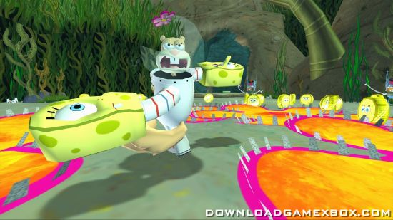 SpongeBobs Truth or Square [PAL][NTSC][ISO] - Download Game