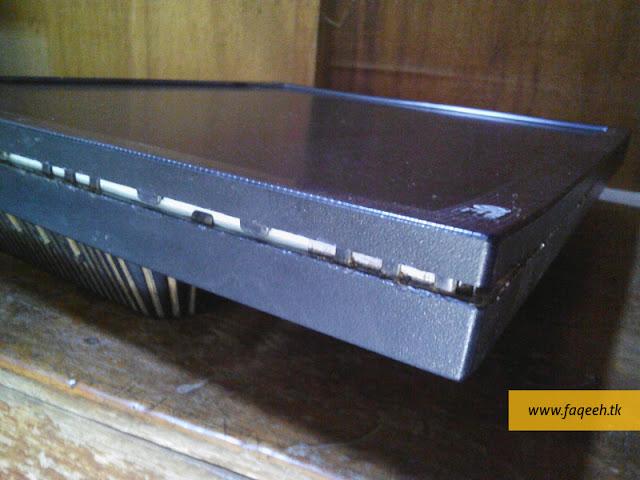 Cara membuka casing penutup monitor LCD LG Flatron L1753S untuk memperbaiki karena mati