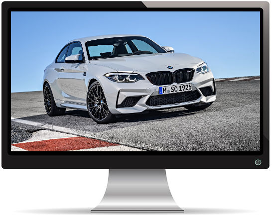 BMW M2 Competition 2018 - Fond d'Écran en Full HD