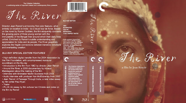 The River (1951) Bluray Cover