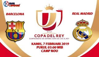 Prediksi Bola Barcelona vs Real Madrid 7 Februari 2019