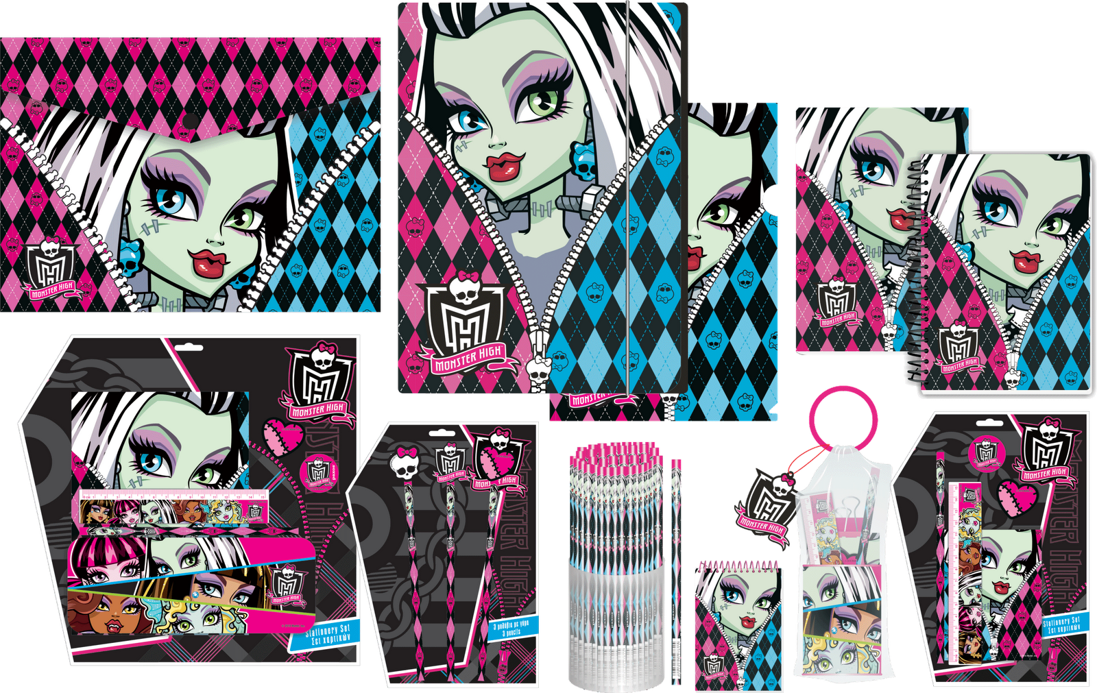 Planet Monster High Material Escolar