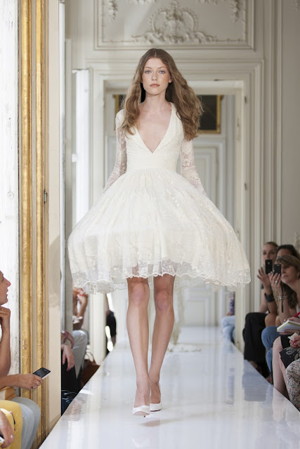 Wedding : Delphine Manivet 2013 Bridal Gowns :: Cool Chic Style Fashion