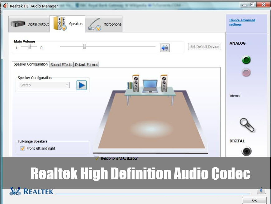 Idt High Definition Audio Codec Driver Download