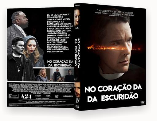 CAPA DVD – No Coração Da Escuridão DVD-R