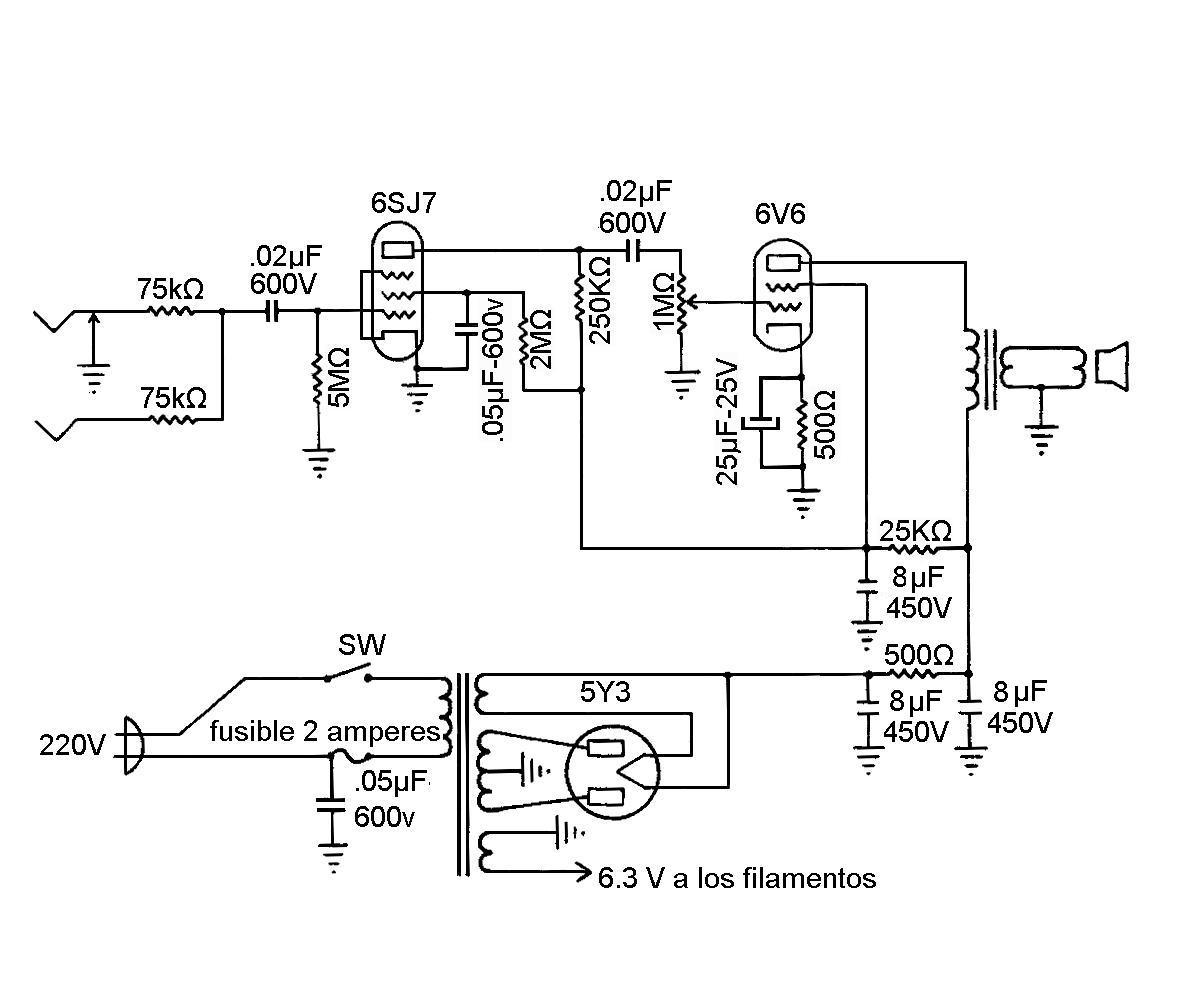 Amplificadores De Audio Amplificador Valvular Fender