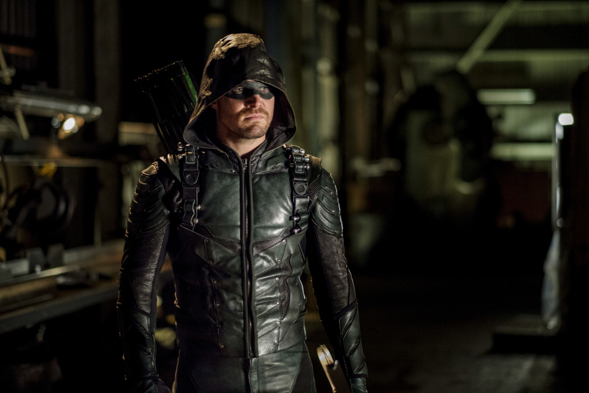 Stephen Amell como Green Arrow en Arrow de CW