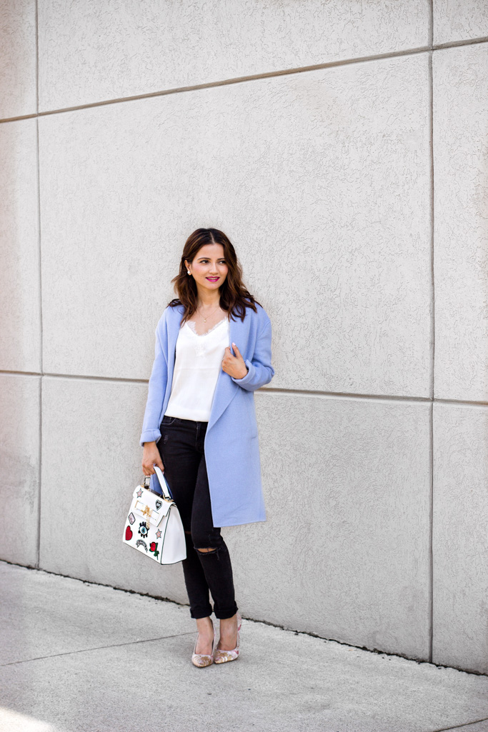 Wrapped Up in Blue + I've Been Buying ALL the Bags