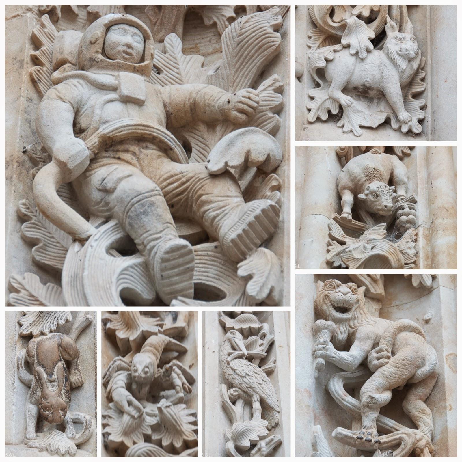 Detalles puerta Ramos catedral de Salamanca