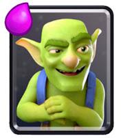 Ringkasan dan cara menggunakan kartu Goblins untuk strategi battle deck clash royale