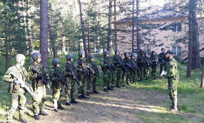 Nordiska fredsaktivister slappta