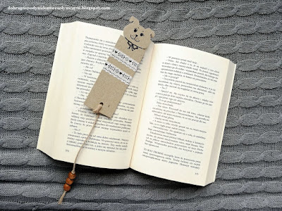 zakładka do książki pies