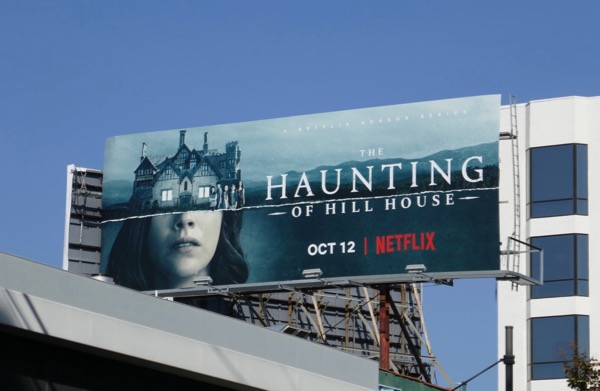 Haunting of Hill House series billboard