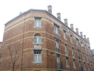 Edificio Art Nouveau en Les Marolles, Bruselas