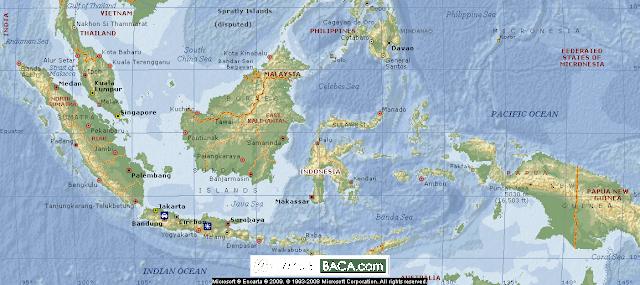 Peta Purba Indonesia Pada Abad Ke-17, Ternyata Begini Negara Kita Kala itu!