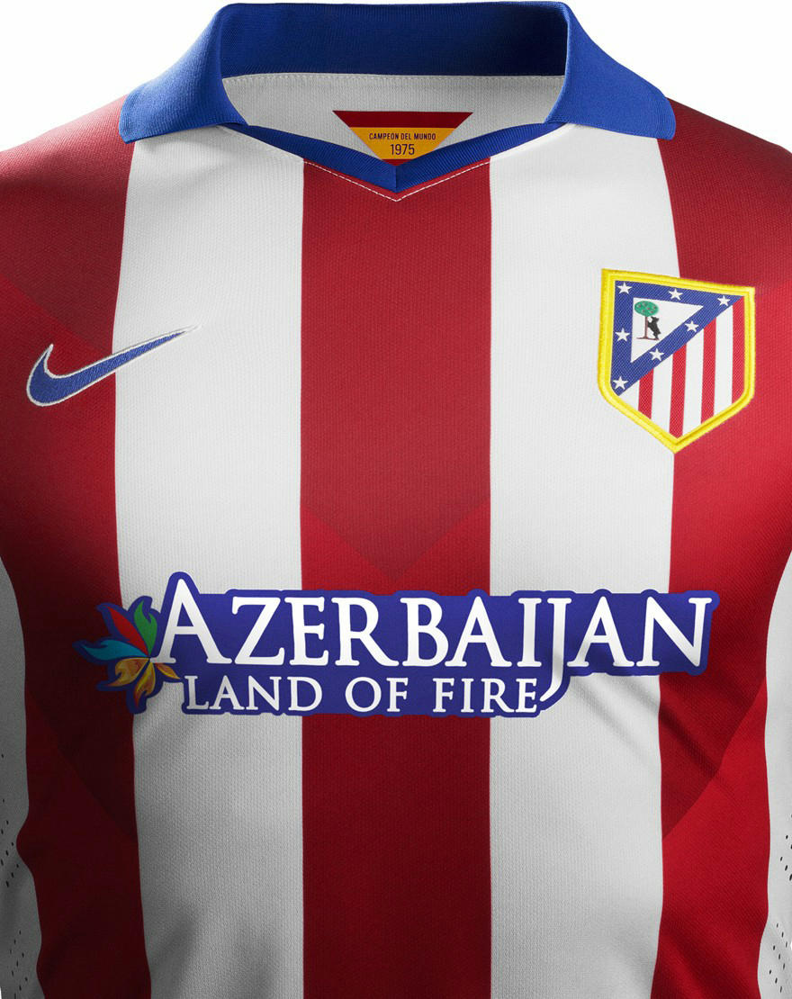 New Atlético Madrid 14-15 Home And Away Kits