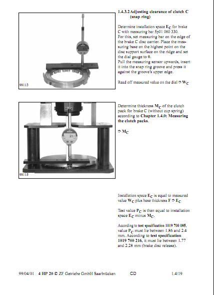 Zf Transmission Repair Manuals 4hp20