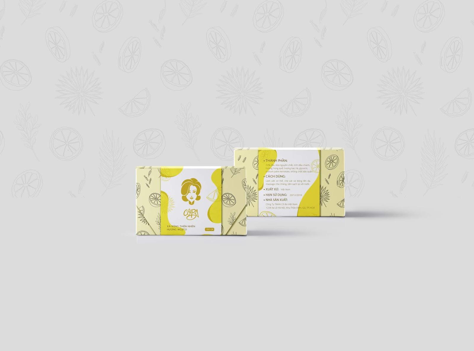 Vietnamese Organic Soap - Cô Ba on Packaging of the World - Creative