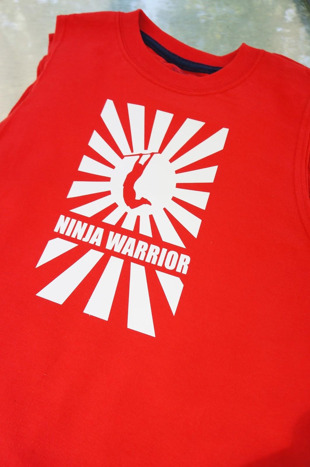 namesake design: American Ninja Warrior Party