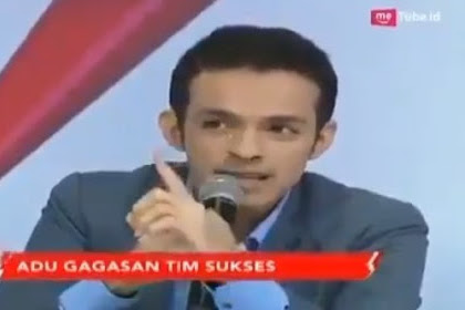 Pertanyaan Cerdas Gamal Albinsaid Bikin Kubu 01 Terdiam