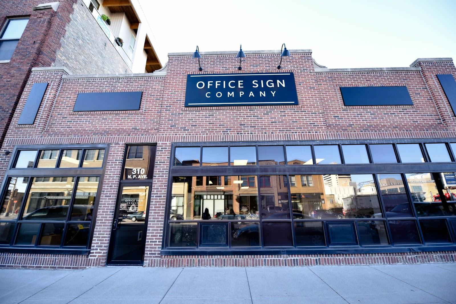 Office Sign Company Fargo North Dakota