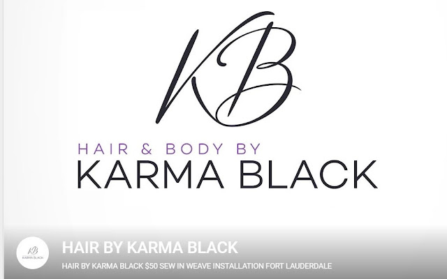 HAIR BY KARMA BLACK