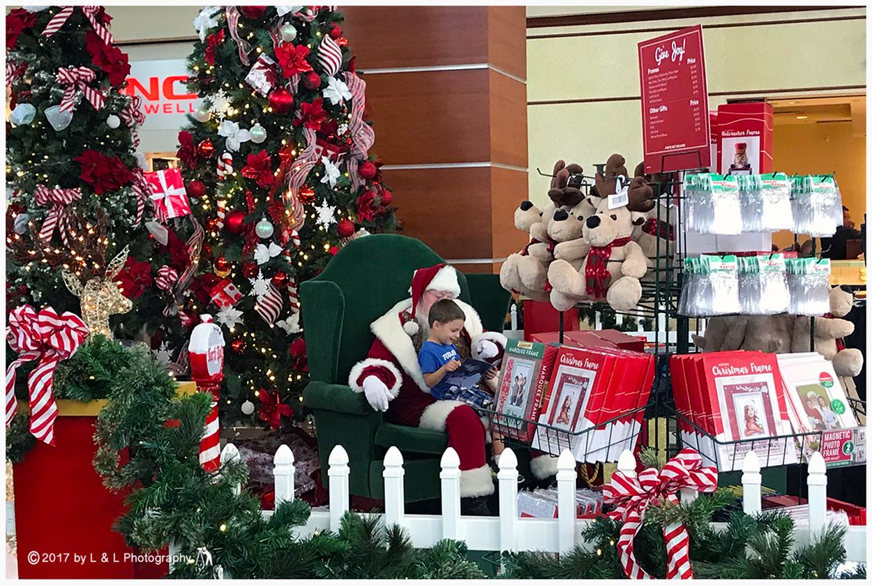 Ocala, Central Florida & Beyond: Mall Santa
