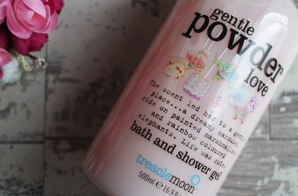Treaclemoon Gentle Powder Love Bath & Shower Gel (& Introducing the Treaclemoon App)